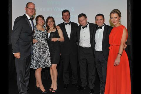 Outstanding Broker Claims Team of the Year: Keelan Westall & Cadogan Keelan Westall